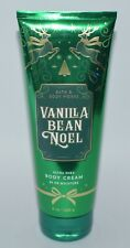 1 NEW BATH & BODY WORKS VANILLA BEAN NOEL ULTRA SHEA CREAM HAND LOTION 8 OZ
