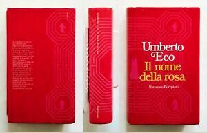 UMBERTO ECO  IL NOME DELLA ROSA- PRIMA EDIZIONE ASSOLUTA1980