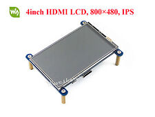 4inch HDMI LCD Module 800×480 Resistive Touch LCD IPS Screen for Raspberry Pi