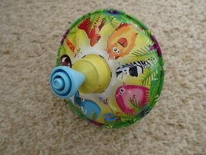 Kreisel Brummkreisel Tiere 14 cm Durchmesser