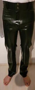 Blackstyle Latex Rubber Jeans schwarz chloriert Größe M