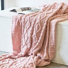 Home Textile Knitted Blankets Decor Bedspread Blanket Warm Throws Blankets