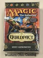 Magic The Gathering Guildpact Izzet Gizmometry Theme Deck NEW MTG Blue Red
