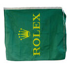 """ROLEX - ROLEX GREEN AND YELLOW 30"""" X 24"""" FLAG"""