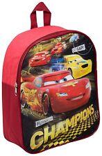 NEW DISNEY CARS RACERS EDGE NURSERY SCHOOL JUNIOR TODDLER KIDS BOYS BACKPACK BAG