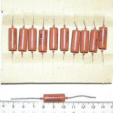 20pcs * 200V 0.033uF 33nF / K40Y-9 K40U9 PAPER PIO TONE CAPACITORS RED TYPE B