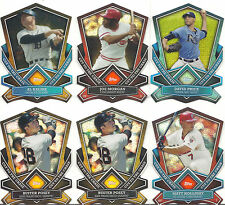 2013 Topps Cut To The Chase Price Posey Kaline Holliday Morgan Lot of Five