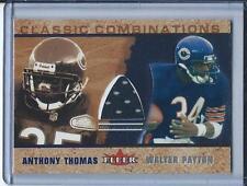 "2002 FLEER ""CLASSIC COMBINATIONS"" WALTER PAYTON GU JERSEY CHICAGO BEARS!!!"