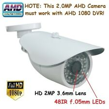 "Sunvision AHD 2.0MP 1080P 1/3"" CMOS In/outdoor Camera 48IR 2MP 3.6mm Lens (124A"