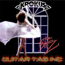 Krokus Digital Guitar Tab THE BLITZ Lessons on Disc Fernando Von Arb