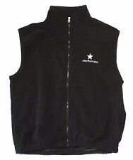 DEFTONES EMBROIDERED STAR BLACK POLAR FLEECE TEK VEST XL NEW OFFICIAL BAND MERCH