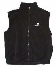DEFTONES EMBROIDERED STAR BLACK POLAR FLEECE TEK VEST XL NEW OFFICIAL