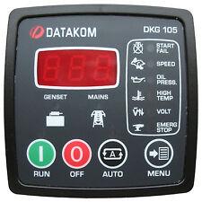 DATAKOM DKG-105 Painel de controle de falha de rede automática do gerador (AMF)