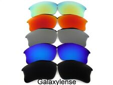 Replacement Lenses For Oakley Flak Jacket XLJ Black&Blue&Gray&Red&Gold 5Pairs