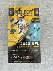 2020 PANINI SELECT FOOTBALL H2 HYBRID NFL HOBBY BOX - NEW / SEALED