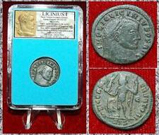 Ancient Coin Licinius I Bronze Follis Jupiter holding Nike on reverse  Nice Coin