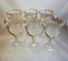 Set of 6 Fostoria Rare Radiance  Wine Glass  Lead Crystal