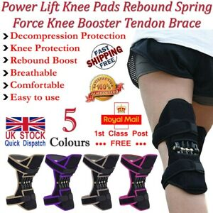 LTG Power Lift Knee Support Pad Joint Brace Rebound Spring Force Running Sports