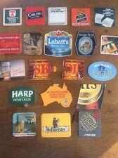 Collection Joblot 20 Vintage Beer Mats Advertising Lager Pilsner Pils