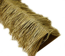 "12' Tiki Hut Bar Mexican Palm Thatch Ridge Roof Cap Roll 60"" x 12' Commercial"