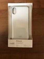 Moshi iGlaze for iPhone XS / X - hardshell protective case - Pearl White