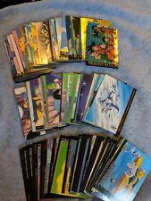 Dragonball Z DBZ Artbook 130 Card Lot 1996-1999 Amada