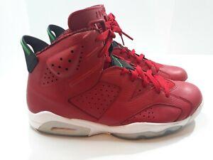 Nike Air Jordan 6 VI Spizike History of Jordan 2014 Size 12 694091-625 Red White