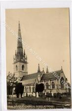 (Gb1355-483) Real Photo of Marble Church, Bodelwyddan c1910 VG