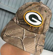 Green Bay Packers New Era Camo Adjustable Baseball Cap Hat