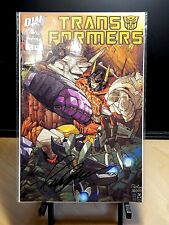TRANSFORMERS G1 #1 Volume 1 Comic Book RETAILER INCENTIVE Signed by PAT LEE!