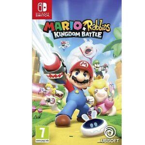 SWITCH Mario et The Lapins Crétins Kingdom Battle