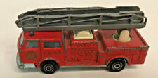 Vintage Majorette Pompier Fire Engine Truck Diecast 1/100 Model No. 207