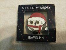 Exclusive Geek Gear wizardry enamel pin badge Harry Potter owl Hedwig.