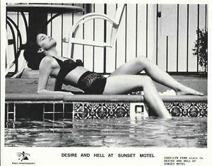 DESIRE AND HELL AT SUNSET MOTEL  SEXY STILL 10X8 VINTAGE PHOTO SHERILYN FENN