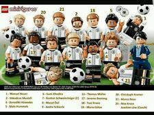 Lego 71014 DFB German football Team! Full set of 16 minifigures!!Hard to find!
