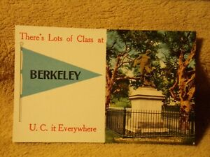 Vintage Postcard There's Lots Of Class At Berkeley, University Of California