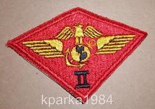 WW2 ERA US MARINE CORPS SECOND 2nd MARINE AIR WING PATCH - SECOND DESIGN
