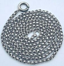 800 er Silber Erbskette Kette (A35)