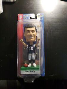 2002 NFL Edition Tom Brady Bobble Head Doll NIB with Upper Deck Card