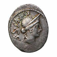 Roman Republic Cordius Rufus 46 Bc Ar Silver Denarius Ancient Coin Sydenham.977