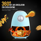 1.8 QT Electric Air Fryer Oilless Cooker Non Stick Air Fryers for Pizza/ Chicken