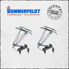 SOMMERFELDT 744 paire routeurs bois monobras pour BR Piko - gris - 1/87