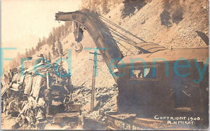 RPPC - Missoula, MT - Cleaning Up Northern Pacific Railroad Wreck - 1911