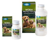 ProLabs Worm Protector 2X Pyrantel Pamoate Canine Anthlmintic Suspension 240ml