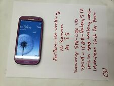 Samsung Galaxy S3 SPH-L710 - 16GB (Sprint) -pink - for-part