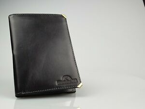 The Craftsman Black Leather Long Wallet (105mm x 150mm) New in Box - 90725