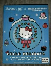New The Creme Shop Hello Kitty & Friends Limited Edition Essence Sheet Masks