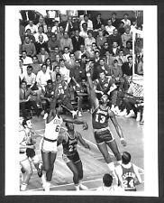 1969 NBA FINALS Game 6 Celtics vs Lakers BILL RUSSELL vs WILT CHAMBERLAIN photo