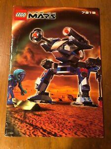 LEGO Life on Mars 7313 Instruction Manual
