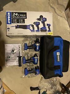 Kobalt 24v Max Power Tool Lot